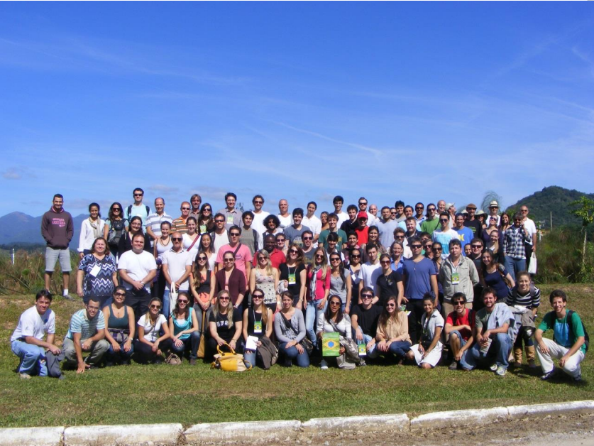 Participantes do 1º Seminário de Wetlands Construidas (Brasil, Florianópolis/2013)
